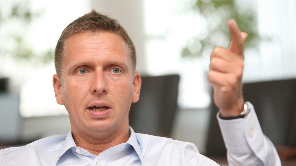 Bývalý ředitel pražského dopravního podniku Martin Dvořák