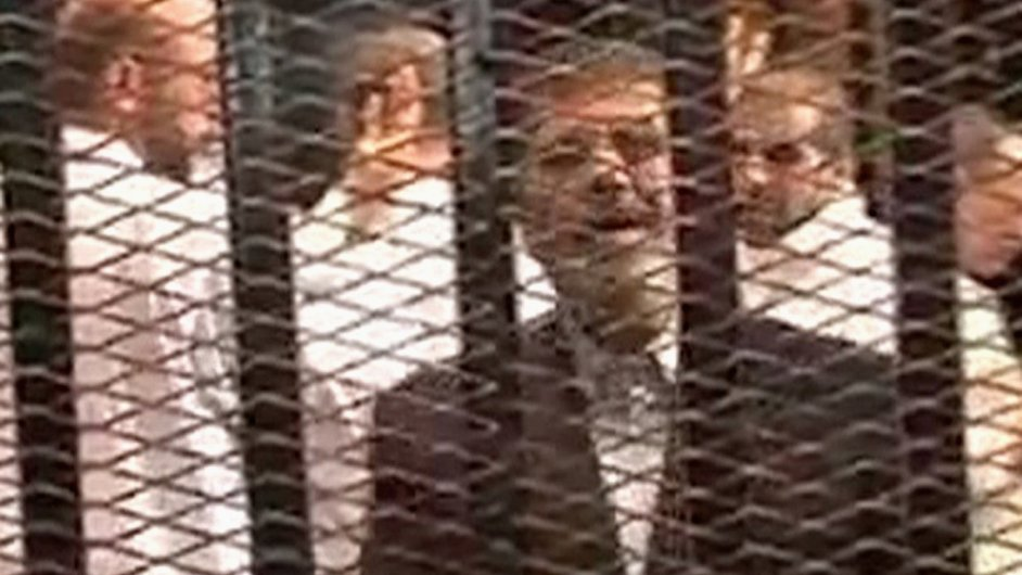 Sesazený egyptský prezident Mohamed Mursí