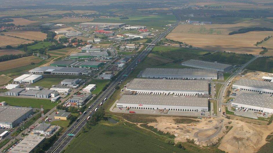Průmyslová zóna Zděbrady, ilustrační foto