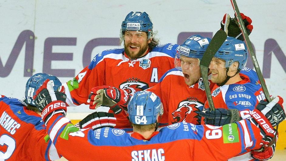 Hokejisté Lva Praha