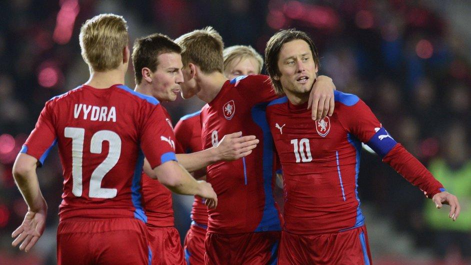 Česko - Norsko 2:2; Praha, středa 5. března