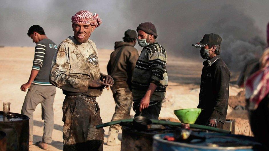 Občanská válka v Sýrii - ilustrační foto