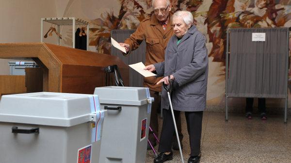 Hlasování - ilustrační foto