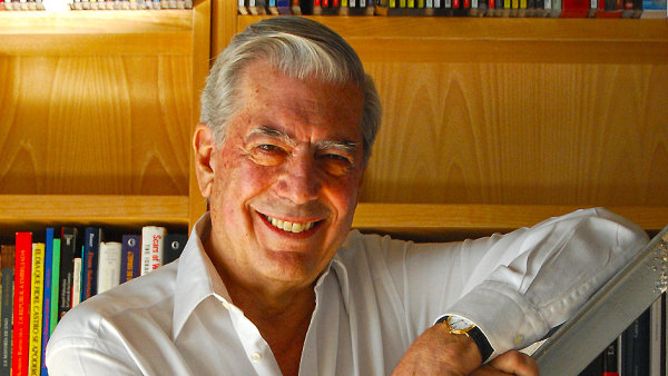 Mario Vargas Llosa byl hostem festivalu Fete du Livre.