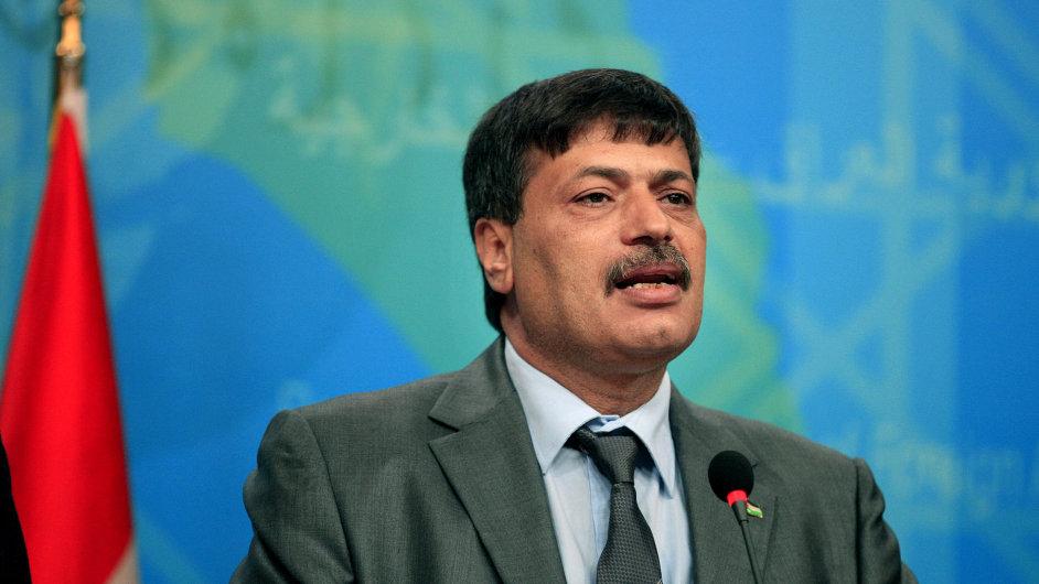 Palestinský ministr bez portfeje Zijád abú Ajn