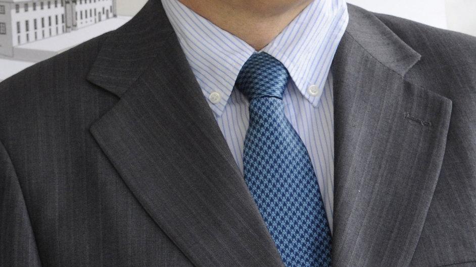 Na snímku nový dočasný ředitel Národní knihovny Petr Kroupa.