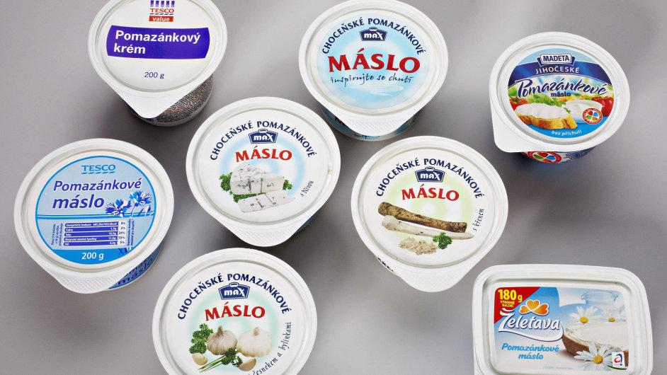 Pomazánkové máslo - ilustrační foto