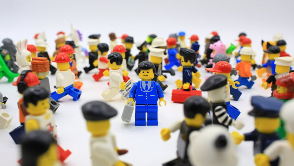 Lego figurky, ilustrační foto