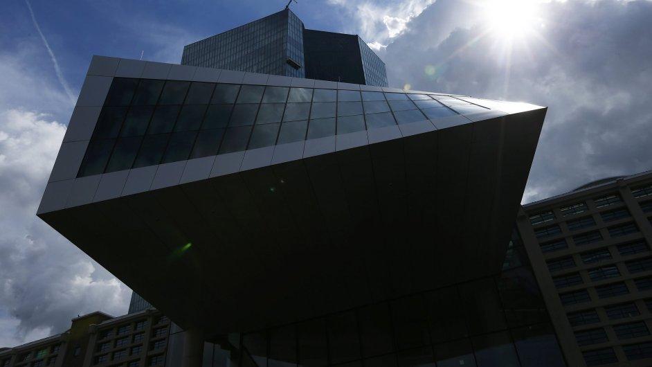 Evropská centrální banka - Ilustrační foto