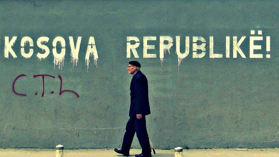 Graffiti v Prištině