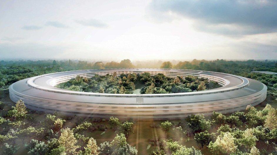 Nejvíc hrdí jsou lidé ve firmě na svůj největší aktuální projekt - kampus firmy Apple, jenž vyrůstá v kalifornském Cupertinu.