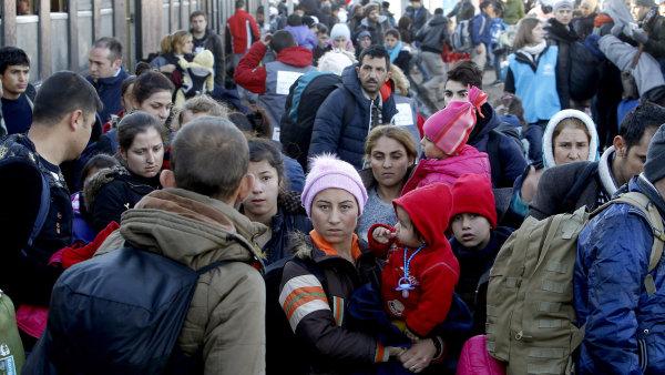 Uprchl�ci v Makedonii