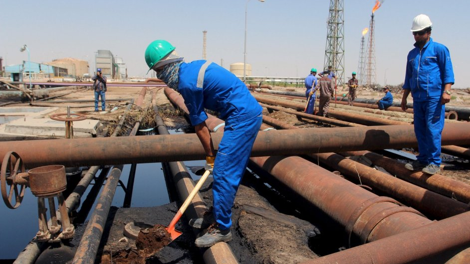 Ropa, Irák, rafinérie
