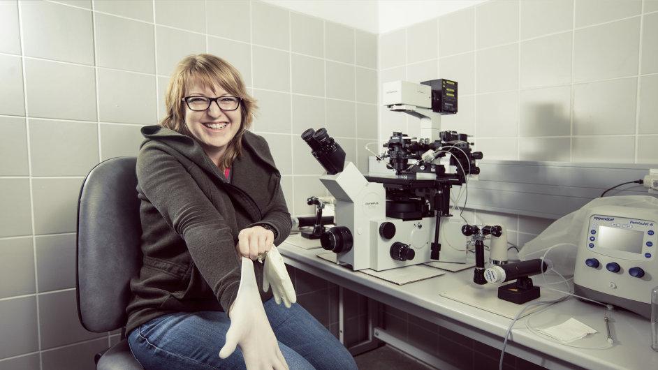 Bioložka Helena Fulková