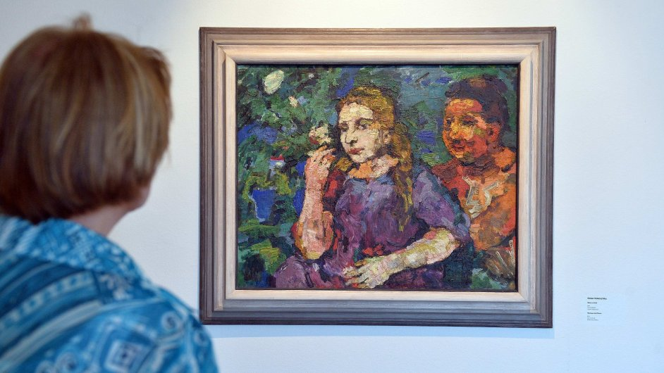 Snímek z výstavy v Museu Kampa
