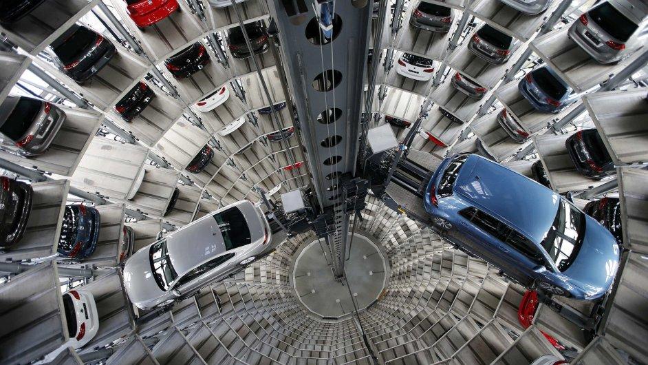 Předváděcí věž - vozy Volkswagen