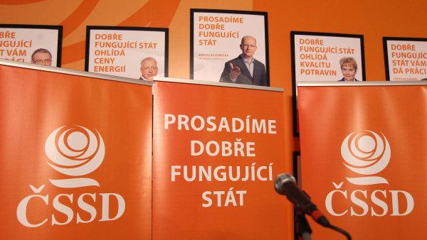 Za poslední dva roky se členská základna sociálních demokratů ztenčila o desetinu.