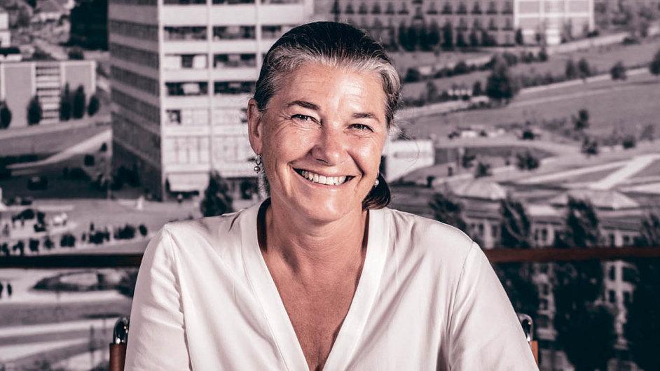Rosemarie Blyth Bata, podnikatelka, předsedkyně správní rady Nadace Tomáše Bati a jeho vnučka.