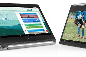 Elegantní Acer Chromebook R13 má nekonečnou baterii a poradí si s aplikacemi pro Android