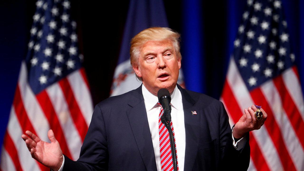 Donald Trump přednese Američanům svou ekonomickou vizi.