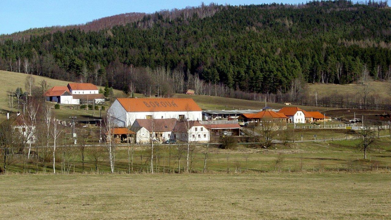 Ekofarma Borová je jednou z téměř tří tisíc ekofarem, které se v Česku nacházejí.
