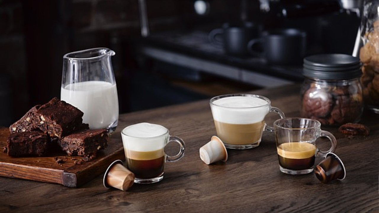 Kávy Barista značky Nespresso