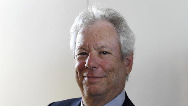 Letošní laureát Nobelovy ceny za ekonomii Richard Thaler.