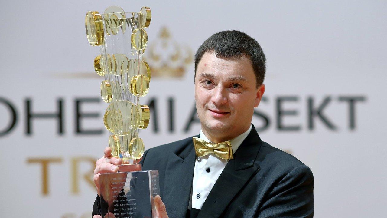 Nejlepším českým someliérem roku 2017 je Kamil Prokeš