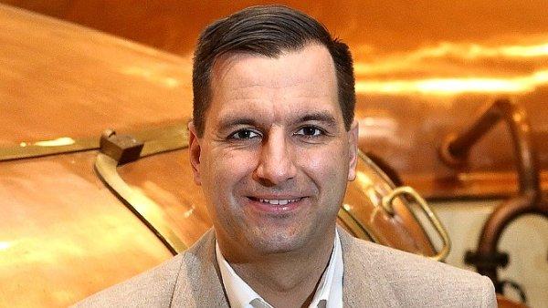 Jan Krafka, ředitel pro hospody a restaurace pivovaru Plzeňský Prazdroj