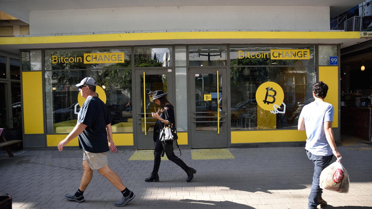 Bitcoin kryptoměny digitální měny
