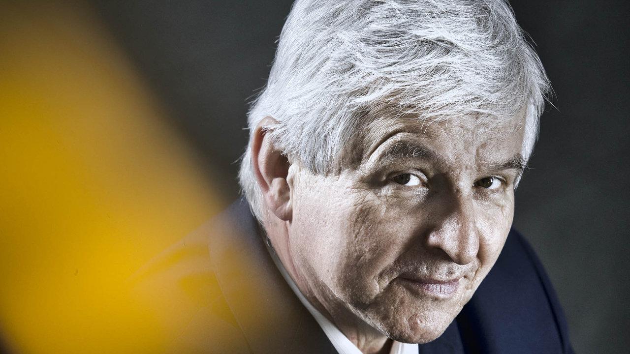 Guvernér České národní banky Jiří Rusnok.