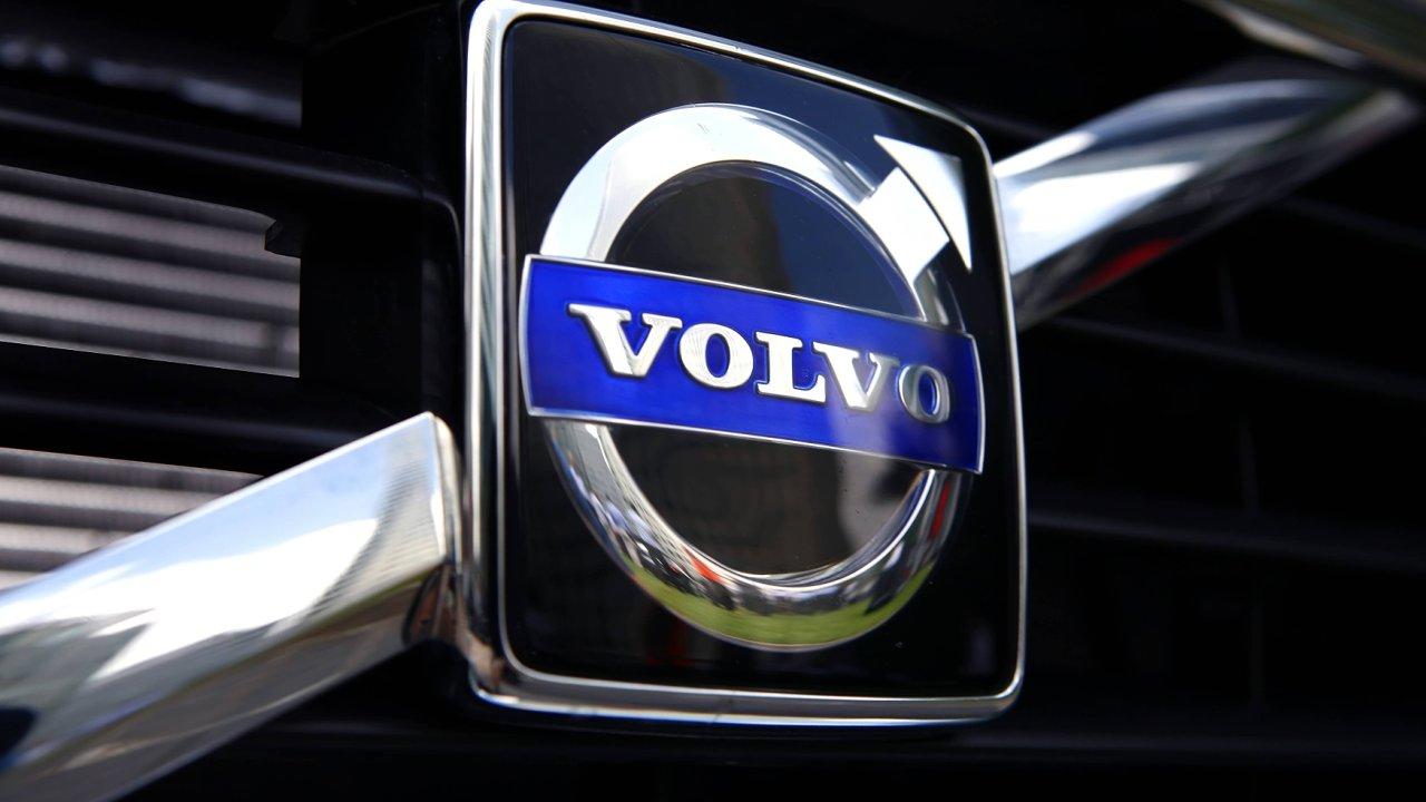 Logo automobilů Volvo.