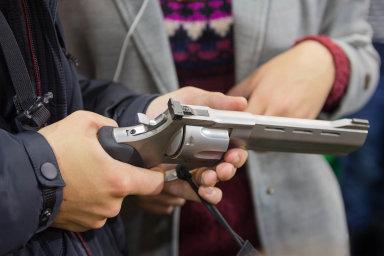 Zbraně prodává dál: Walmart je největším maloobchodním řetězcem vUSA. Vedle pečiva nebo kosmetiky prodává také dlouhé palné zbraně amunici.