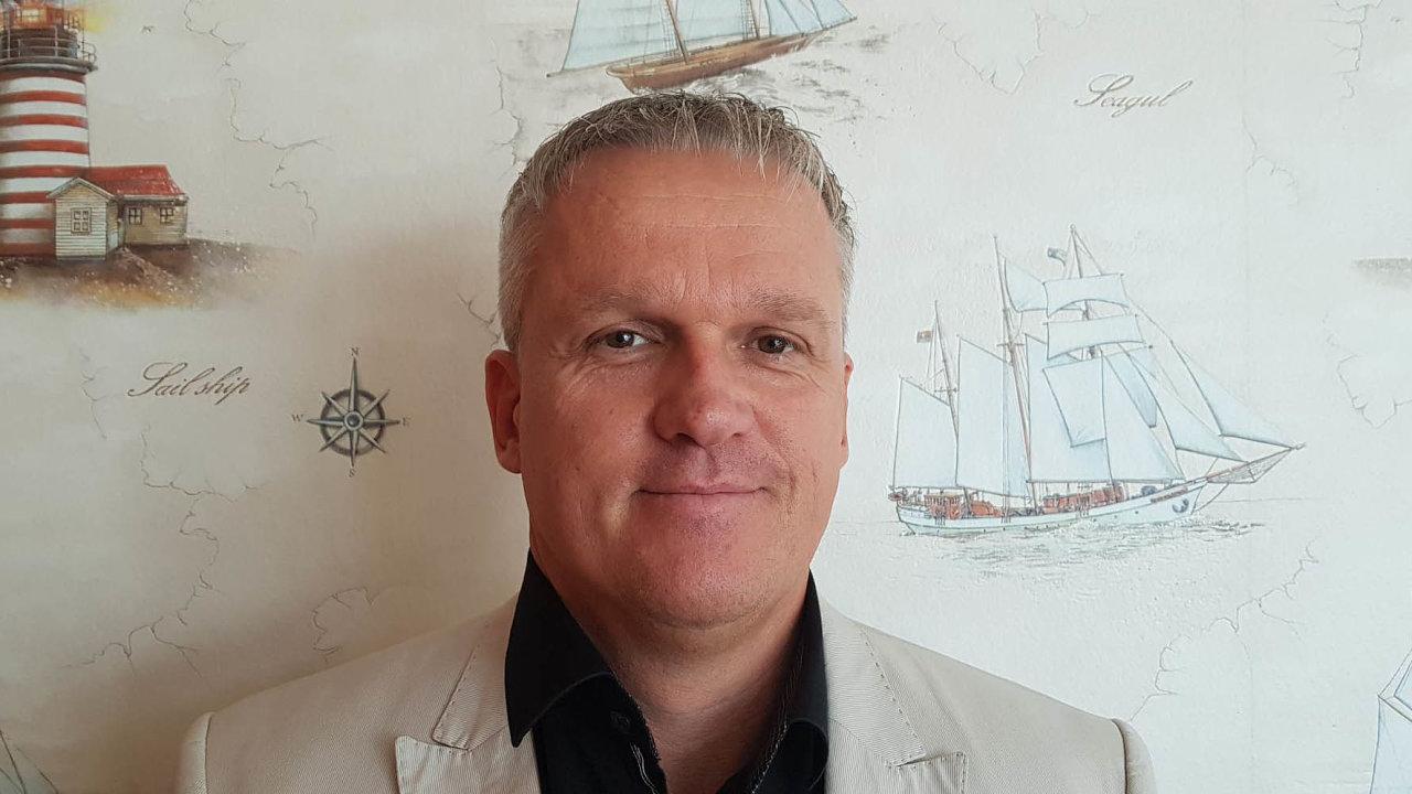 Lukáš Hradský, spolumajitel Evropské vodní dopravy