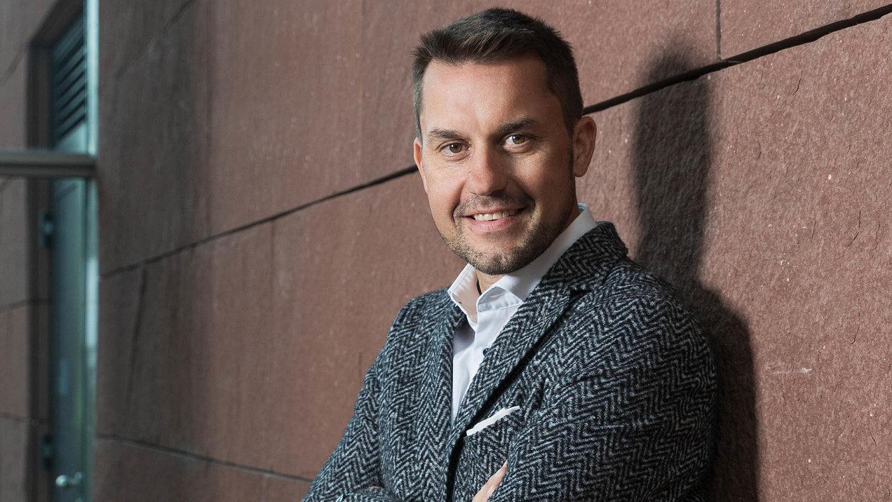 Ondřej Rušikvas je provozním ředitelem Blue Stylu. Podle něj trh cestovek poroste ipříští rok.