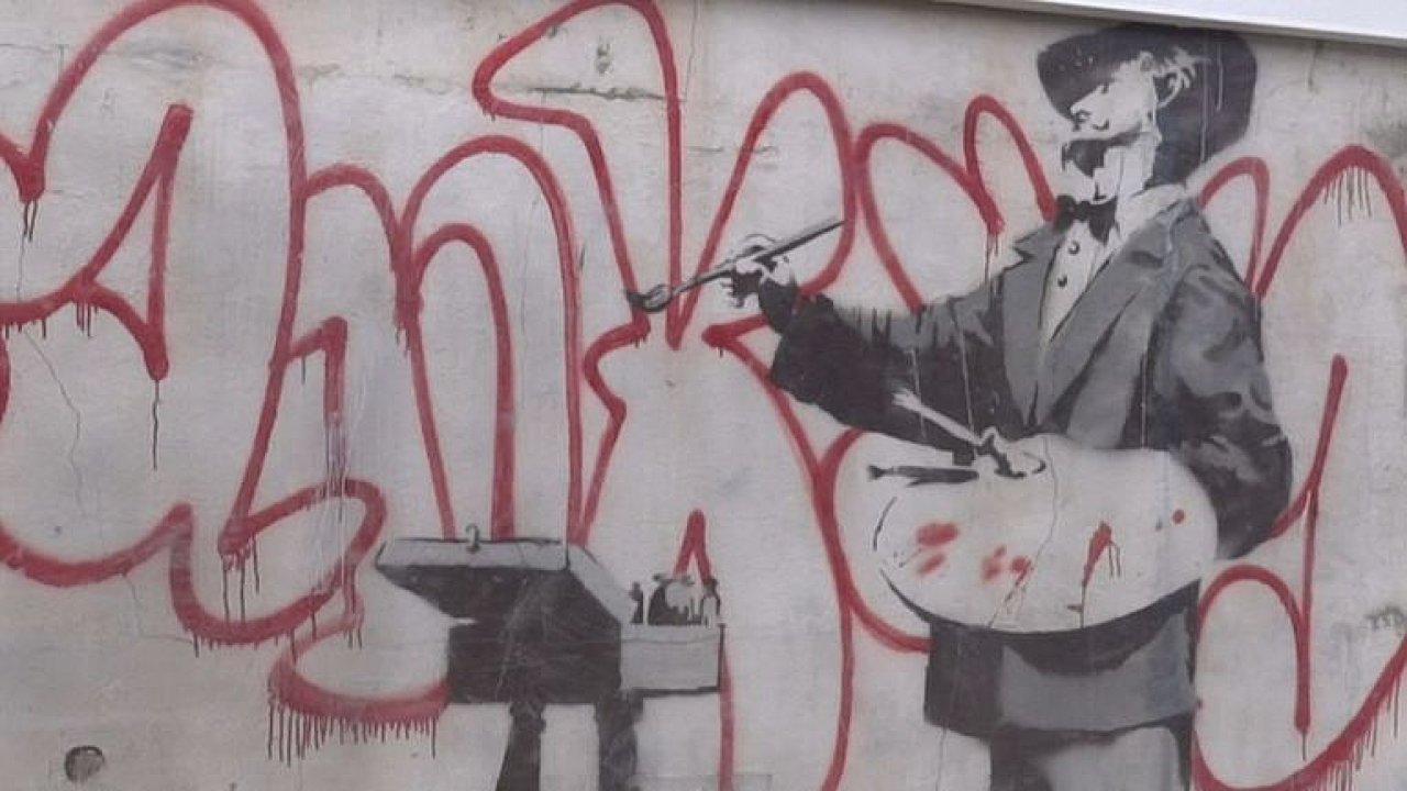 Banksy v Notting Hillu.