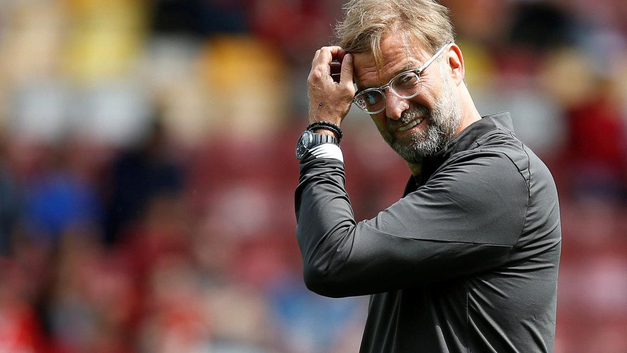 Problémy trenéra Liverpoolu. Jürgen Klopp bude muset před Vánoci rozpůlit kádr.
