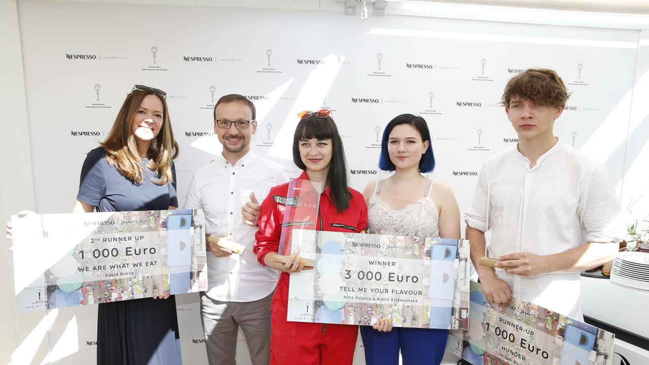 Vítězové Nespresso Talents 2019