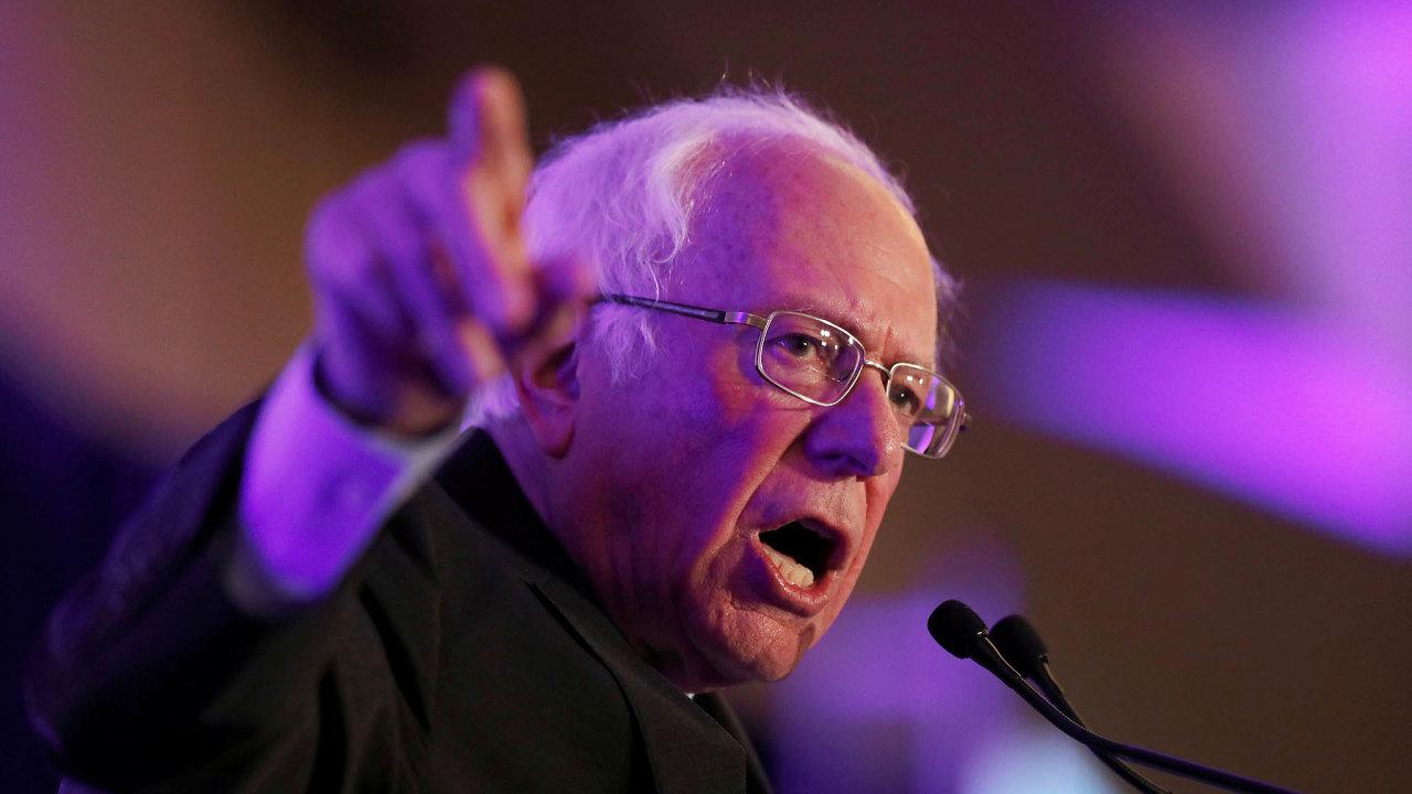 Nejslabším místem Bernieho Sanderse zůstává jeho zvolitelnost dofunkce prezidenta. Řada demokratů se obává, že by v souboji sDonaldem Trumpem neobstál.