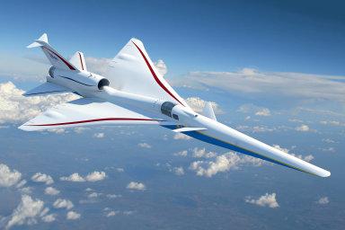 Letoun X-59 QueSSTby mohl oživit naděje nanávrat nadzvukové leteckédopravy.