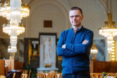 Daniel Gladiš, šéf investiční společnosti Vltava Fund