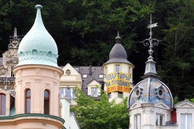 Karlovy Vary. Nemovitosti vdřívějším ráji ruské střední vrstvy se těžko prodávají už nyní. Azemě uzavřená kvůli koronaviru situaci jen zhorší. Podobné to bude vcelé republice.