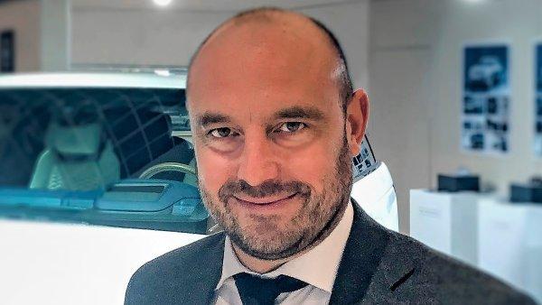 Felix J. Wannemacher, generální ředitel společnosti Jaguar Land Rover pro Rakousko a Českou republiku