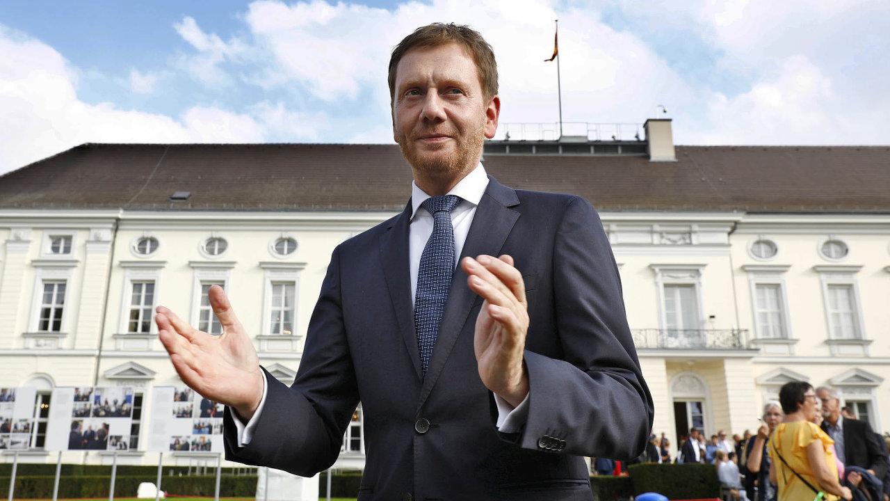 Pro otevření hranic. Saský premiér Michael Kretschmer je pro rychlou obnovu společného života přeshraničního regionu s Českem a Polskem ve stavu před pandemií.