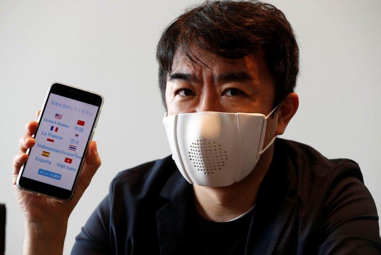 Japonská chytrá rouška C-Mask
