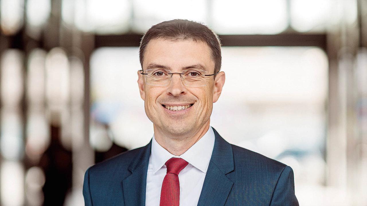 Vedoucí partner divize consultingu vespolečnosti EY Petr Knap