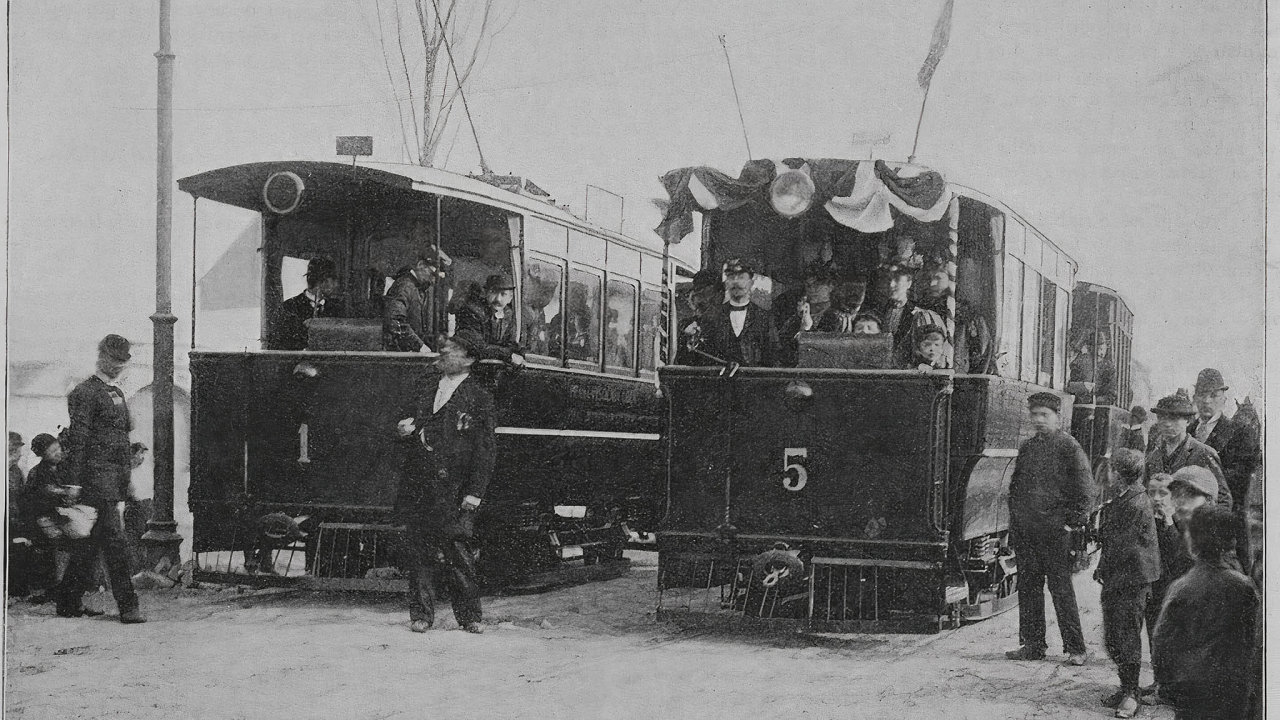 František Křižík si vydobyl mezinárodní renomé svou obloukovou lampou, české publikum ale skutečně ohromil až elektrickou tramvají.