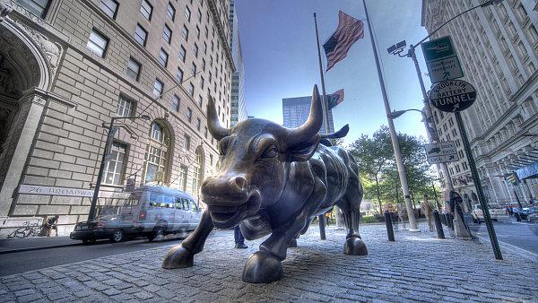 Investoři z Wall Street si ve středu opět zajezdili na býku.
