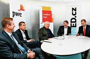 Druhá debata v cyklu Leader´s Talk. Tématem byla etika v podnikání a její efektivita.