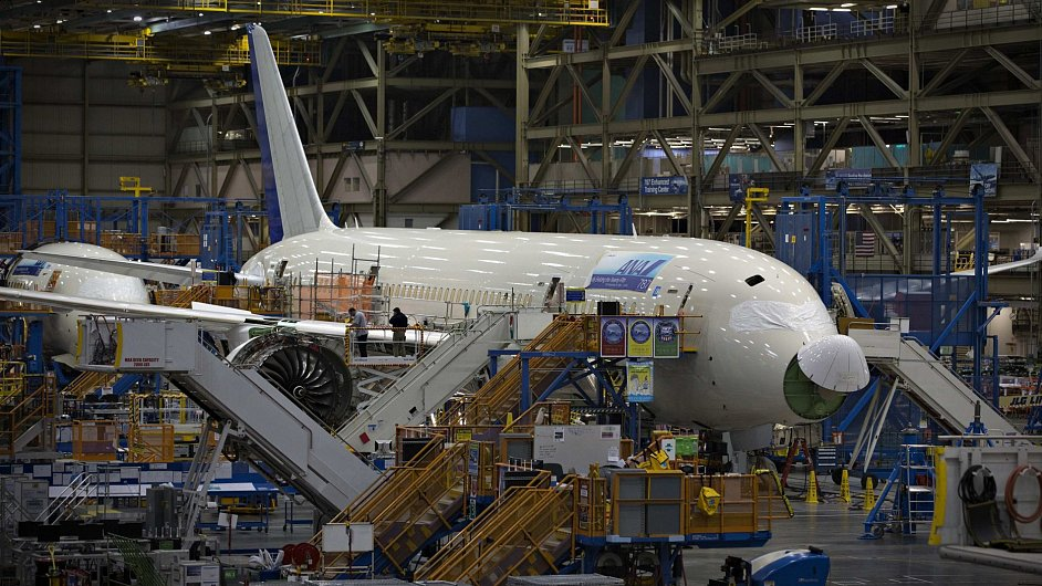 Výroba Boeingu